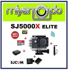 SJCAM SJ5000X WiFi Action (Black) + Monopod + Sandisk 32GB + Batt+Charger + Bag