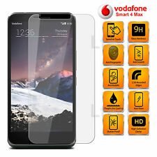 Vodafone Smart 4 Max - Anti Scratch Transparent Tempered Glass Screen Protector