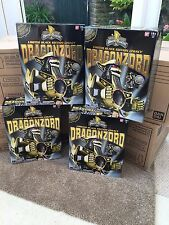 ** UK Stock ** Legacy black Dragonzord megazord New sealed **One per purchase**