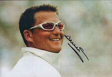 Darren GOUGH Signed Autograph 12x8 Portrait Photo AFTAL COA YORKSHIRE Cricket