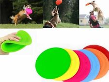 Dog Frisbee Flying Disc Tooth Resistant Random Color Dog Training Fetch Toy TOCA