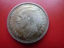 1934 Belgium Silver 20 Francs Coin