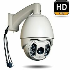 CCTV 720P IR IP HD Network 20X PTZ Dome Kamera Onvif, IOS, Android,Motion Detect