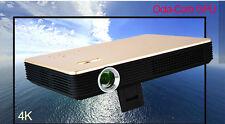 Octa-Core GPU 3D Wifi DLP Mini 4KHD 1080P Home Theater Projector HDMI USB LED