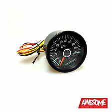 NEWSOUTH PERFORMANCE VW WHITE 100PSI 52MM OIL PRESSURE GAUGE VW GOLF 6 GAU015