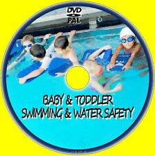 SWIM LESSONS FOR BABIES TODDLERS KIDS CHILDREN & LEARN  WATER SAFETEY NEW DVD