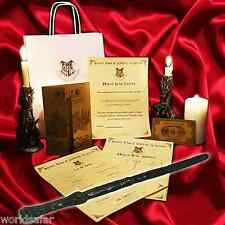 Harry Potter Style wand gift set, Plays sound & lights up, unique birthday gift!