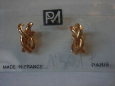 BOUCLES D'OREILLES CLIP VINTAGE 1980  NEUF/ OLD NEW  EARINGS