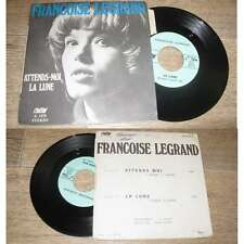 FRANCOISE LEGRAND - Attends Moi Rare French PS 7' Bossa Mods Beat Carson 1970