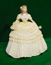 BEAUTIFUL COALPORT FIGURINE LILY FOUR FLOWERS COLLECTION LTD EDT #6819 J GLYNN