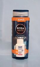 Nivea men active 3-in-1 body wash + body lotion