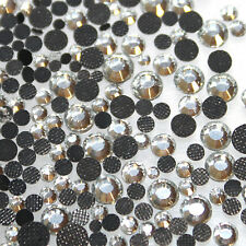 250 Strass thermocollant Rond s16 - 4,0 mm (hotfix) cristal A+ qualité Bling