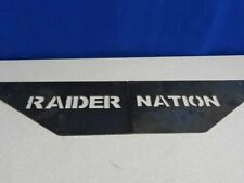 OAKLAND RAIDERS Raider Nation metal art stencil plates