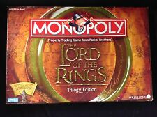 Monopoly The Lord Of The Rings Game Trilogy Edition 2012 Six Collectible Tokens