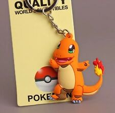 Pokemon Charmander Rubber Keychain 2 Inches US Seller