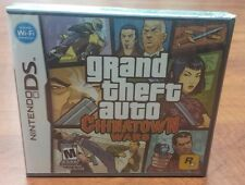 Grand Theft Auto Chinatown Wars (Nintendo DS, 3DS, 2009) FACTORY SEALED