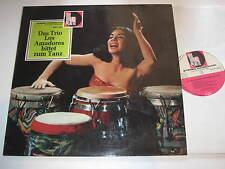 LP/DAS TRIO LOS AMADORES BITTET ZU TANZ/Volksplatte SMVP 6025 /Sexy Cover