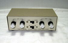 Realistic Portable Transistorized Stereo Mike Mixer