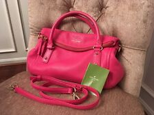 Authentic Kate Spade Cobble Hill Small Leslie Leather Bag Satchel Pink