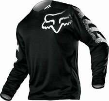 Fox Racing MX Motocross Offroad ATV BLACKOUT Jersey Youth LARGE 12335-001-L