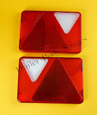 FREE 1st Class Post - LH & RH  Replacement Lens for AJBA RL80 Rear Trailer Lamps