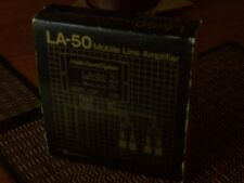 Nakamichi LA-50 Mobile Line Amplifier Old School New Old Stock Preamp 14db Gain