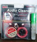 Audio Cassette Cleaner plusTape Deck Demagnetizer Cleaning Solution - Green Top