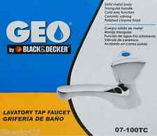 Black & Decker Geo Solid Metal Cold Water Only Lavatory Tap Faucet (07-100TC)