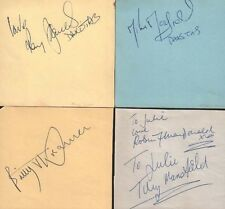 BILLY J KRAMER & THE DAKOTAS (1964) SIGNED AUTOGRAPHS