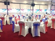 100 Chair Covers And Sashes - Posted - HIRE
