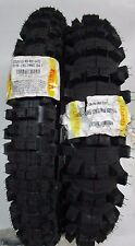 COPPIA GOMME PIRELLI SCORPION 80/100-21 MID HARD 110/90-19 MID SOFT MUD