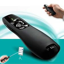Wireless PPT Presenter PowerPoint Remote Control Presentation Red Laser Pen KJ