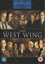 THE WEST WING - Series 7. Martin Sheen, Alan Alda, Jimmy Smits (6xDVD BOX SET07)