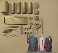 P&D Marsh N Gauge N Scale M45 Recovered chemical and oil storage tanks kit