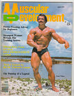 Muscular Development Muscle Magazine Mr America CASEY VIATOR w/ poster 4-79