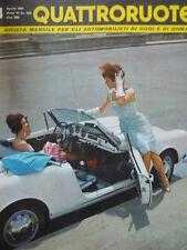 Quattroruote n°4 1961 - test su strada BMW 700 Coupe' - Salone di Ginevra [Q79A]