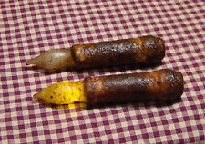 "2~4.5"" Cinnamon Battery LED Timer Taper Candles Rustic Primitive Country Home"