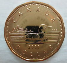 2000W CANADA LOONIE PROOF-LIKE ONE DOLLAR COIN