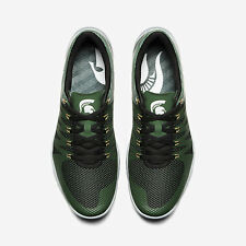 NIKE FREE TRAINER 5.0 V6 AMP MICHIGAN STATE SPARTANS Size 8.5. 723939-317 j