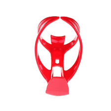 Red Color Bike Bicycle Drink Water Bottle Cup Holder Mount Cage Polycarbonate CM