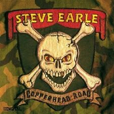STEVE EARLE - COPPERHEAD ROAD  CD  10 TRACKS COUNTRY-ROCK / FOLK-ROCK  NEU
