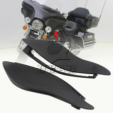 ABS Black Plastic Side Wings Air Deflectors For Harley Davidson Touring 14-2016