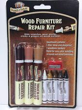Parker And Bailey Wood Furniture Repair Kit Filler Sticks and Woodtone Markers
