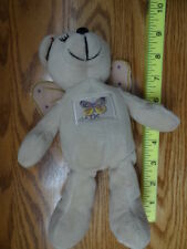 USPS Butterfly Kisses Stamp Bear Plush Teddy Bear Stuffed Animal Collector 2002