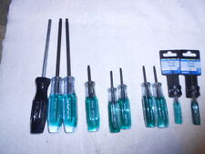 10-pc. TORX Star Screwdriver Set  T 7, 20, 25, 27, 40, 45 Pratt Read USA