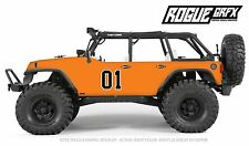 Axial SCX10 Rubicon or CRC Edition Body Graphic Wrap Skin- General Lee