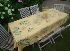 Tischdecke Provence 150x300 cm Oliven gelb Frankreich, bügelfrei, pflegeleicht