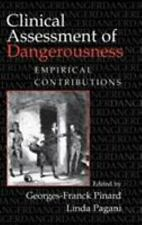 Clinical Assessment of Dangerousness: Empirical Contributions-ExLibrary