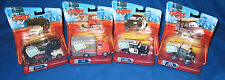 DISNEY CARS DELUXE MILES TRUCK MARCO SECURITY LEROY TRAFFIK ELVIS RV SET NEW