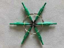 "6Pcs Green Swhacker Broadheads 100Grain 1.75""Cut for Compound Bow"